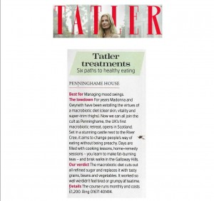 Tatler Treatments