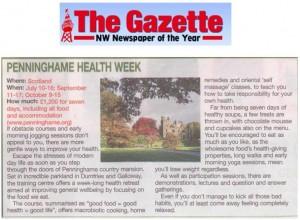 Penninghame Health Week