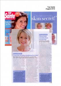 Discover our healthy skin secret!