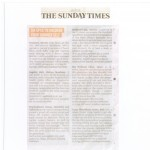 the sunday times jan 2011 no rain logo