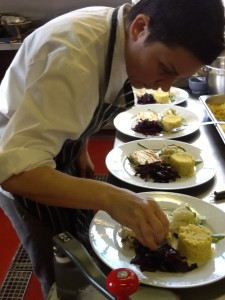 Visiting Chef Monica Jimenez joins Penninghame for a week from Berlin