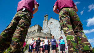Penninghame House plays host to Europe's most exclusive weight loss & fitness boot camp